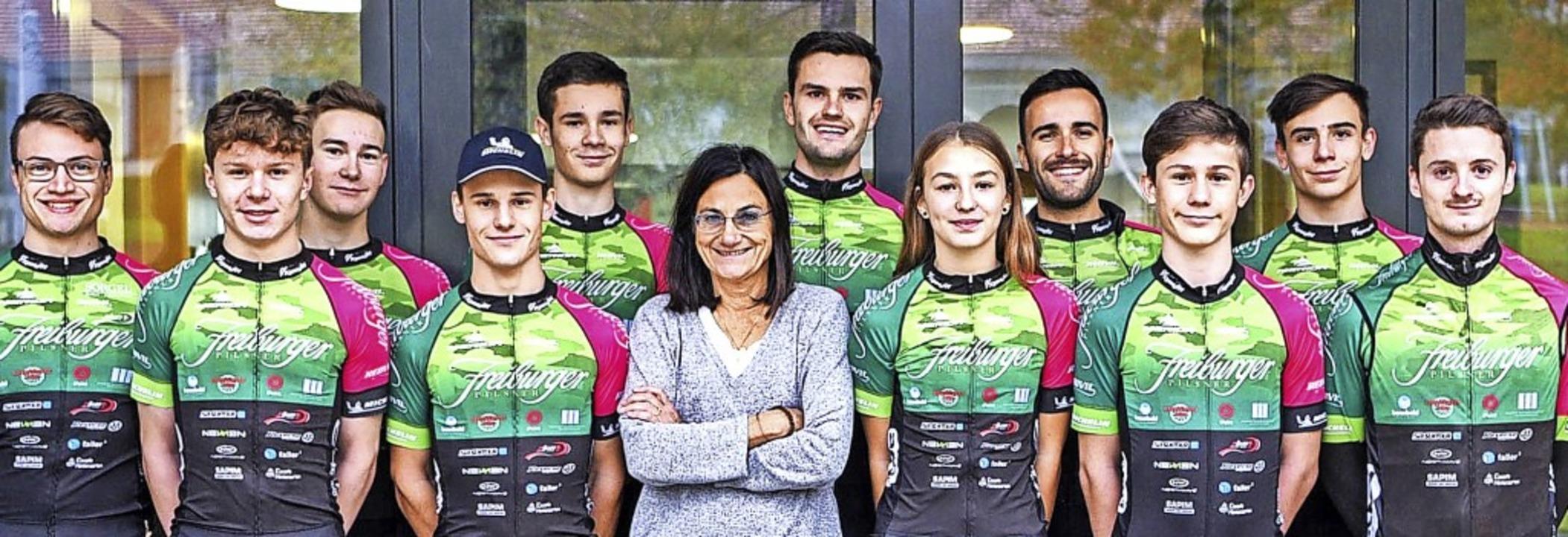Ein starkes Team:   Die Breitnauer Ren...e Mountainbike-Talente aus der Region.  | Foto: Team