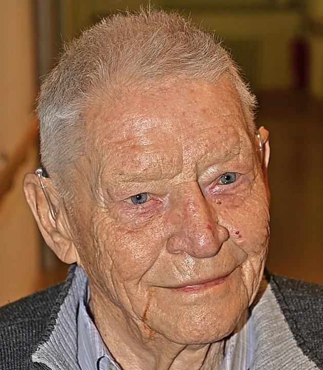 Otto Bury im Jahr 2018    Foto: Roland Vitt