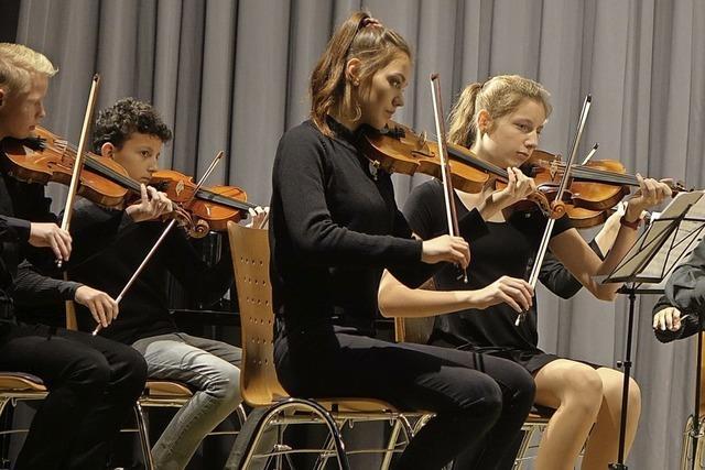 Musikschüler präsentieren große Namen