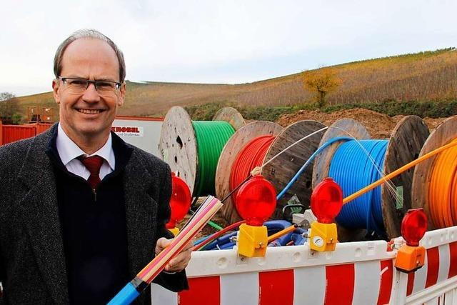 Ortsrundgang durch Schliengen mit Bürgermeisterkandidat Christian Renkert