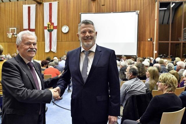 Freiburgs dienstältester Ortsvorsteher verabschiedet sich aus der Verwaltung