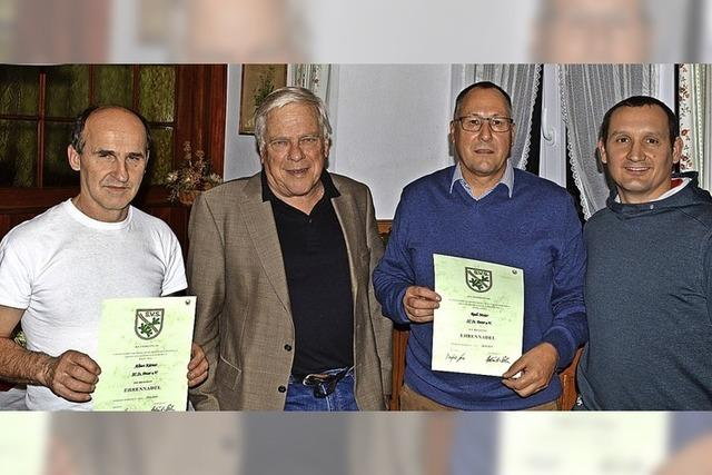 Rudi Maier wird Ehrenmitglied beim Skiclub St. Peter