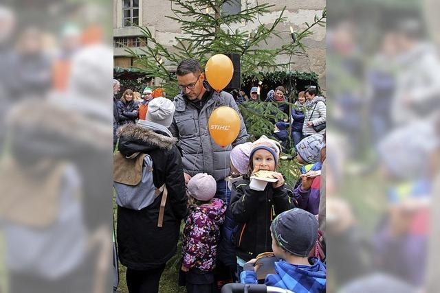Weihnachtsmarkt in Stühlingen