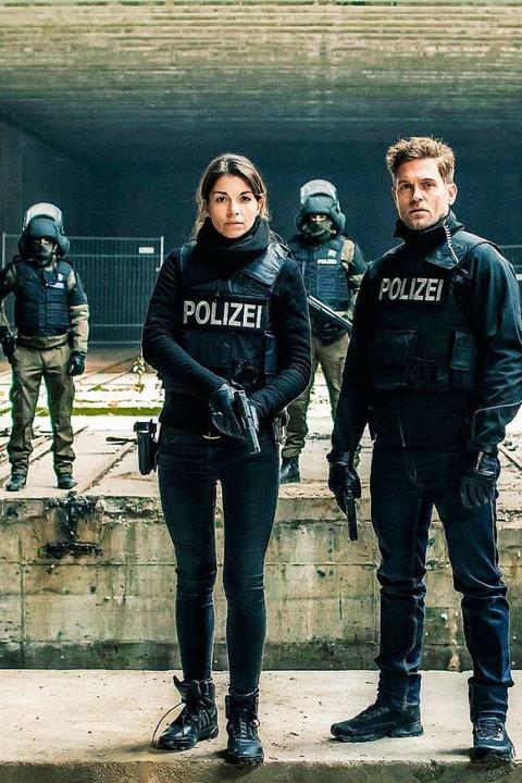 Seit 2010 ermitteln Bianca Hein und Joscha Kiefer für die Soko München.  | Foto: ZDF/Markus Sapper