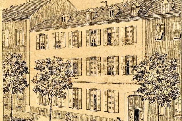 In der Freiburger Altstadt gab es gleich zwei Mädchenpensionate