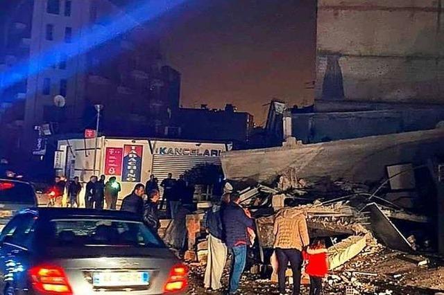 Starkes Erdbeben in Albanien – Medien berichten über Todesopfer