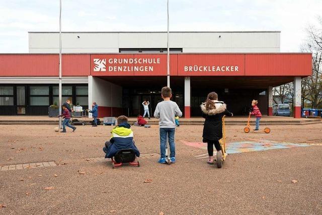 Denzlinger Grundschule nutzt aus Platzmangel Werkraum als Klassenzimmer