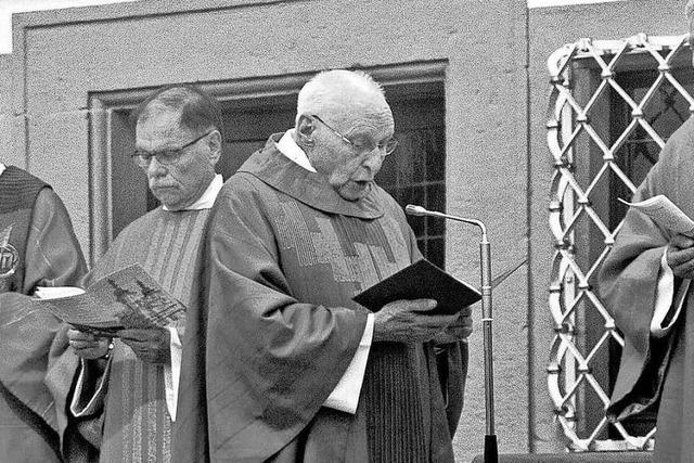 Früherer Stadtpfarrer von Kandern ist in Elzach verstorben