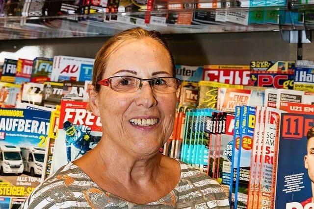 Der Kiosk und Christa Ketterer sind Institutionen in Waldkirch