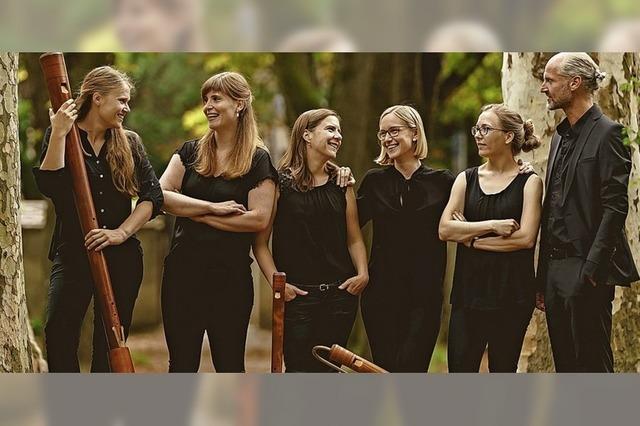 Das Flauto Consort Freiburg spielt in Freiburg, Lörrach, Müllheim und Unterlauchringen