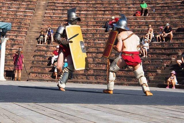 Gladiatorenkämpfe in Augusta Raurica waren nicht so blutig wie angenommen