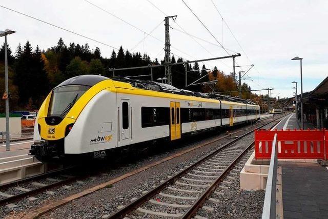 Höllentalbahn zwischen Neustadt und Donaueschingen fährt ab Montag wieder