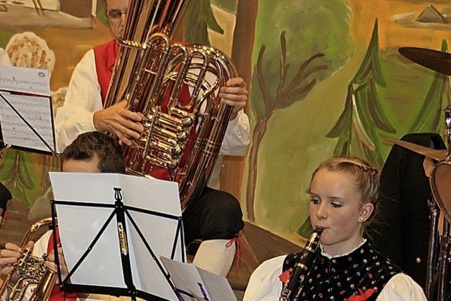 Orchester probt intensiv