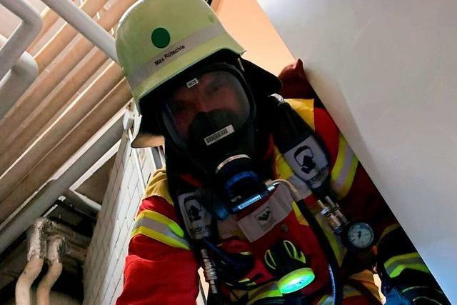 Wie sich ein Feuerwehrmann fühlt, wenn er gerettet wird