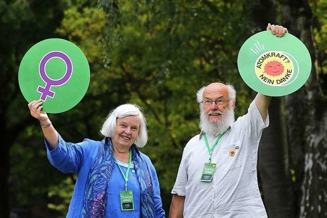 Dieses Gundelfinger Ehepaar wirkte bei der Grünen-Gründung vor 40 Jahren mit