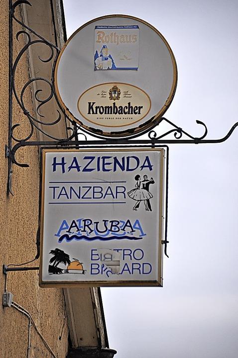 Lange her, die Zeiten der Tanzbar Hazienda und der Bar Aruba    Foto: Rainer Ruther