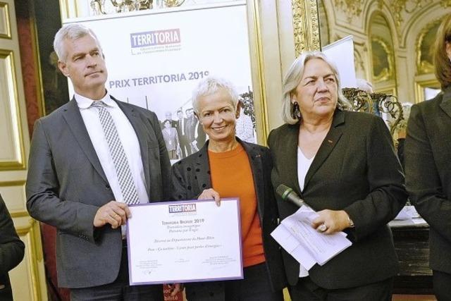 Auszeichnung für deutsch-französisches Projekt