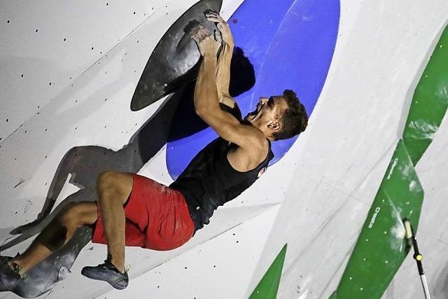 Die Kletterer machen sich das Leben selbst schwer