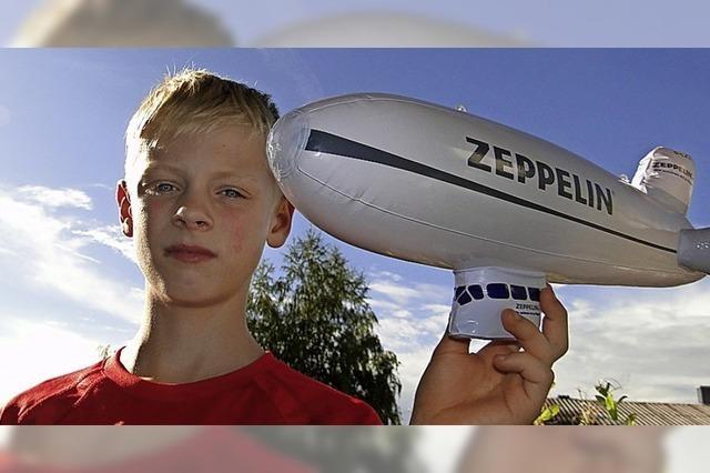 Die Explosion des Zeppelin LZ 129