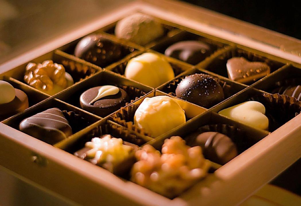 Zum Dahinschmelzen: Pralinen bei der Chocolart in Tübingen  | Foto: RSPS