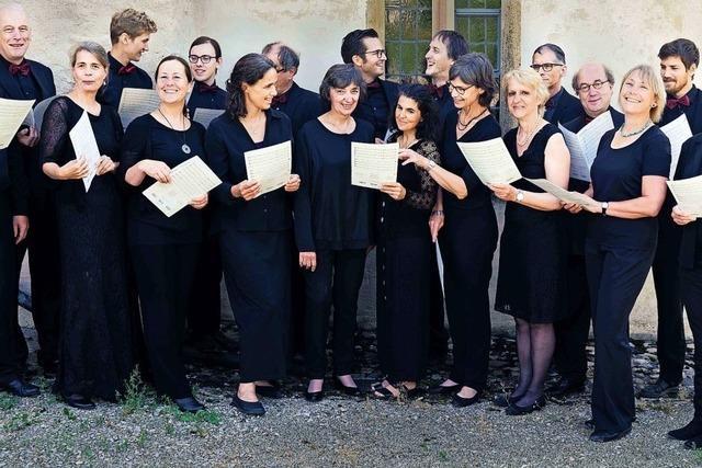 Vokalensemble CantAnima in Sulzburg und Ottmarsheim