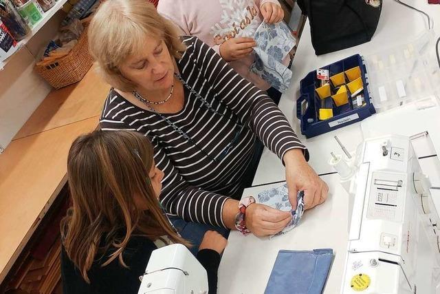 Freiwillige sorgen an der Sonnenbergschule für die Nachmittagsbetreuung