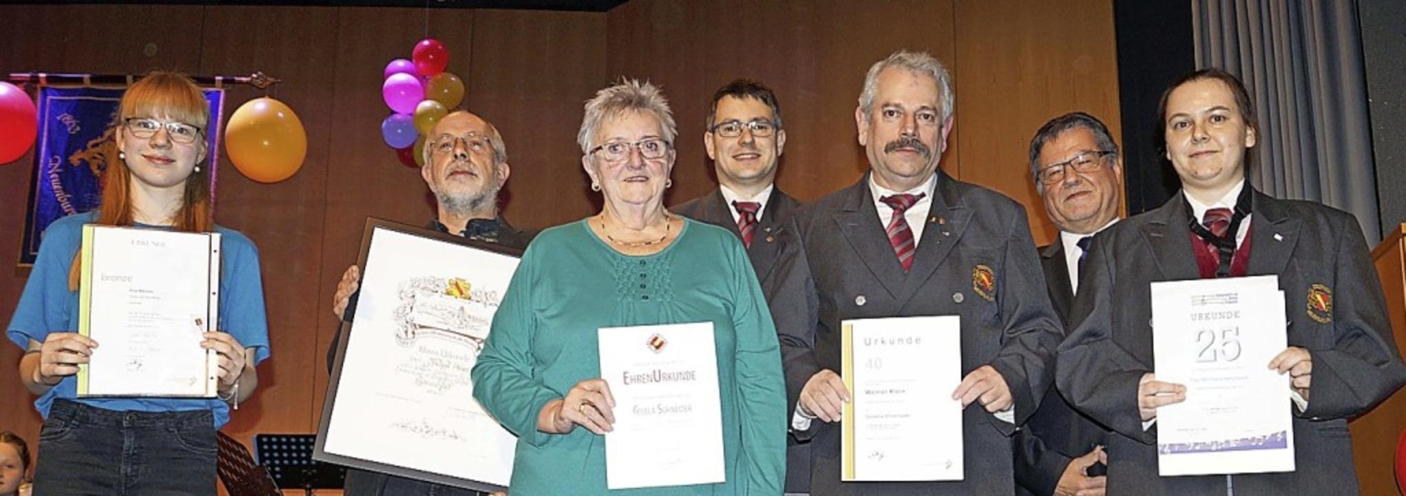 Anja Männlin, Michael Steiert, Gisela ...ger und Michaela Heitzmann (von links) | Foto: Silke Hartenstein