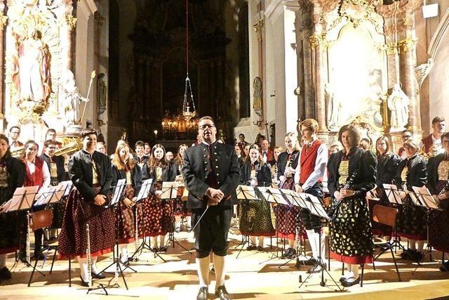 Harmonie zwischen Dirigent und Musikern