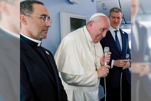 Franziskus kämpft gegen das Chaos