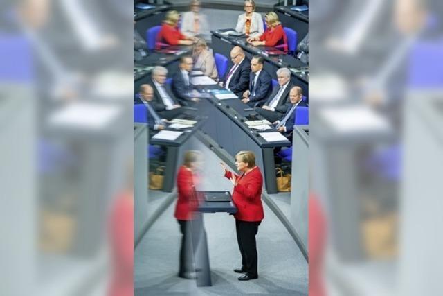 Merkel kontert Macrons Kritik