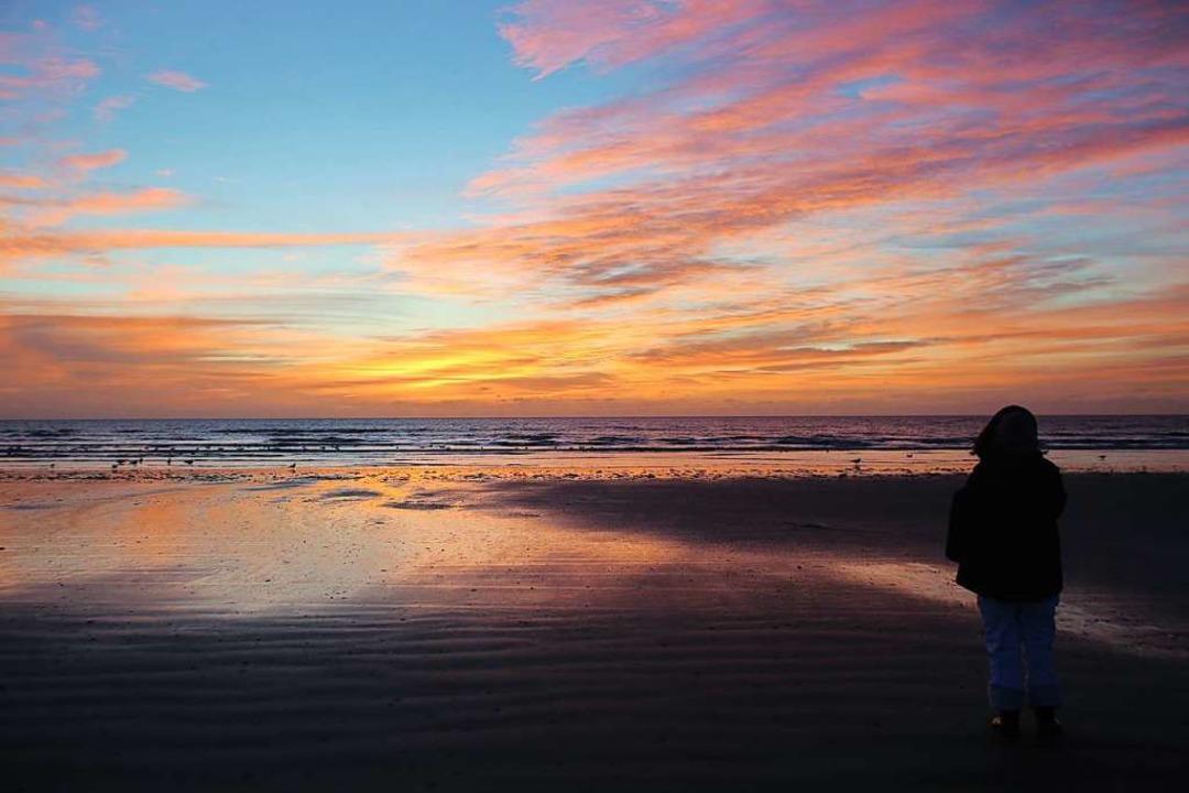 Die Stille des Sonnenuntergangs  | Foto: Fanø Turistbureau (dpa)