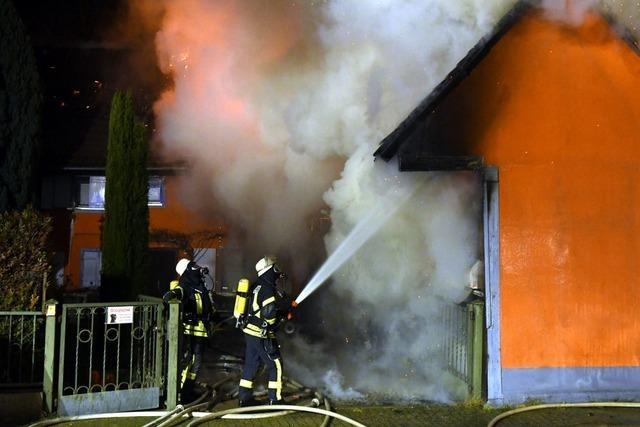 Wohnhaus und Scheune abgebrannt – hoher Sachschaden