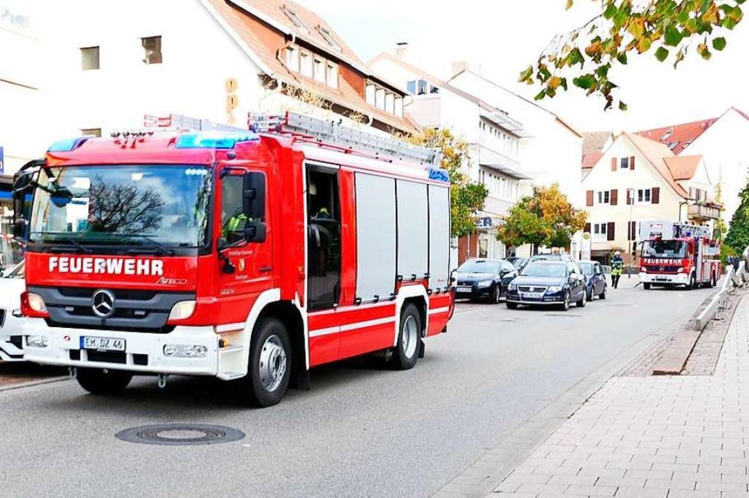 Die Feuerwehr in Denzlingen ist leistu...ig. Doch es mangelt an Einsatzkräften.  | Foto: Enya Steinbrecher