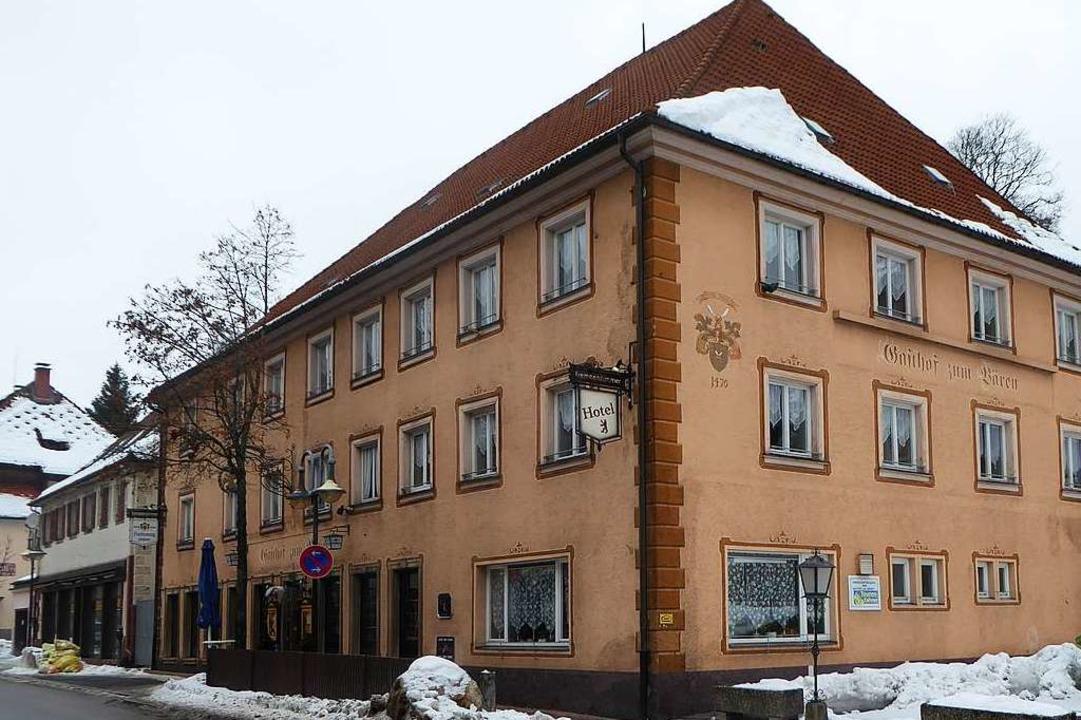 Das Gasthaus Bären in Neustadt (Archivfoto).  | Foto: Peter Stellmach