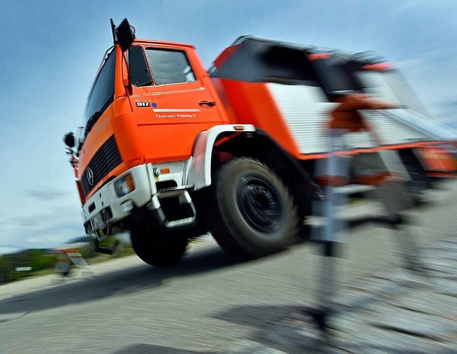 101 Feuerwehrleute mussten innerhalb von 130 Minuten im Stadtgebiet ausrücken.  | Foto: Michael Bamberger
