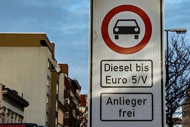 Oberstes Gericht legt Diesel-Fahrverbote für Ludwigsburg nahe