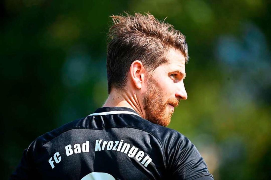 Ex-Profi Andreas Glockner aus Bollschw...shofen in den Reihen der Bad Krozinger  | Foto: Achim Keller