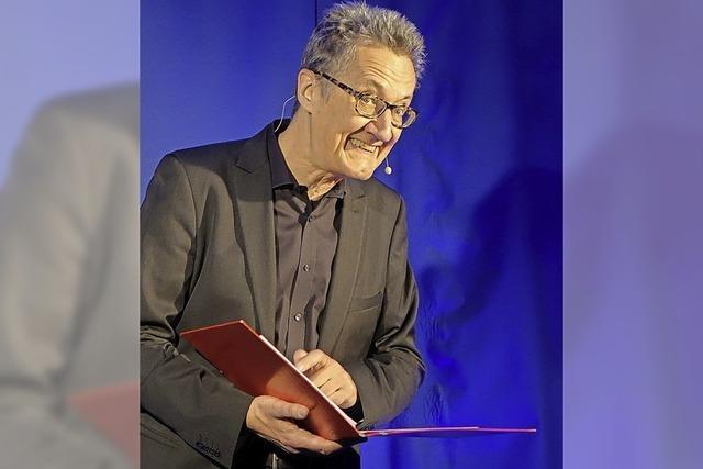 Kabarettist Holger Paetz gibt zwei Vorstellungen in Laufenburg
