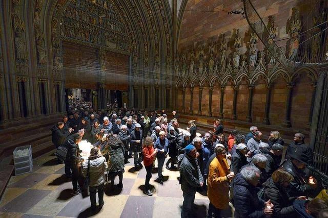 Gedenkgottesdienst zum 75. Jahrestag der Bombardierung Freiburgs stößt auf überwältigende Resonanz