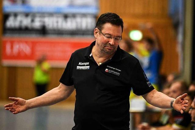 Der Teninger SG-Chef Markus Keune begründet die sofortige Freistellung von Trainer Ole Andersen