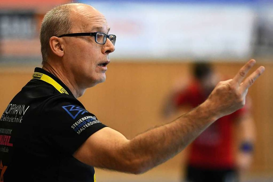 Manfred Chaumet war bis zur vergangene... Oberliga-Team nun bis zum Saisonende.  | Foto: Patrick Seeger