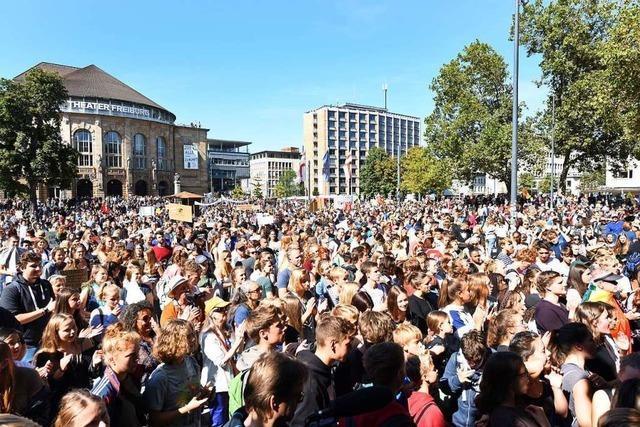 Fridays for Future ruft am Freitag zum Klimastreik durch Freiburg auf
