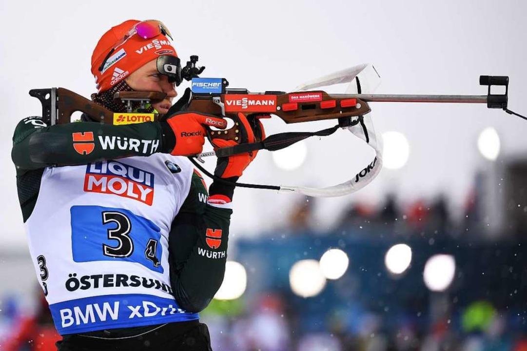 Schwarzwalder Biathlet Benedikt Doll Startet In Die Weltcupsaison Biathlon Badische Zeitung