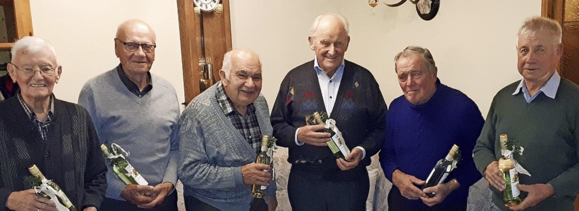Zahlreiche langjährigen Mitglieder wurden geehrt.   | Foto: Privat