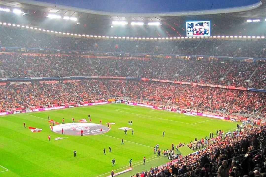 In der Allianz-Arena sind die BZ-Leser live dabei.  | Foto: Uwe Müller