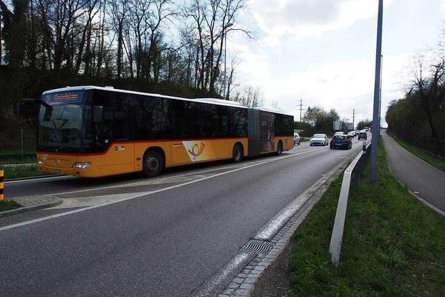 Roche bekommt in Kaiseraugst eine eigene Busspur