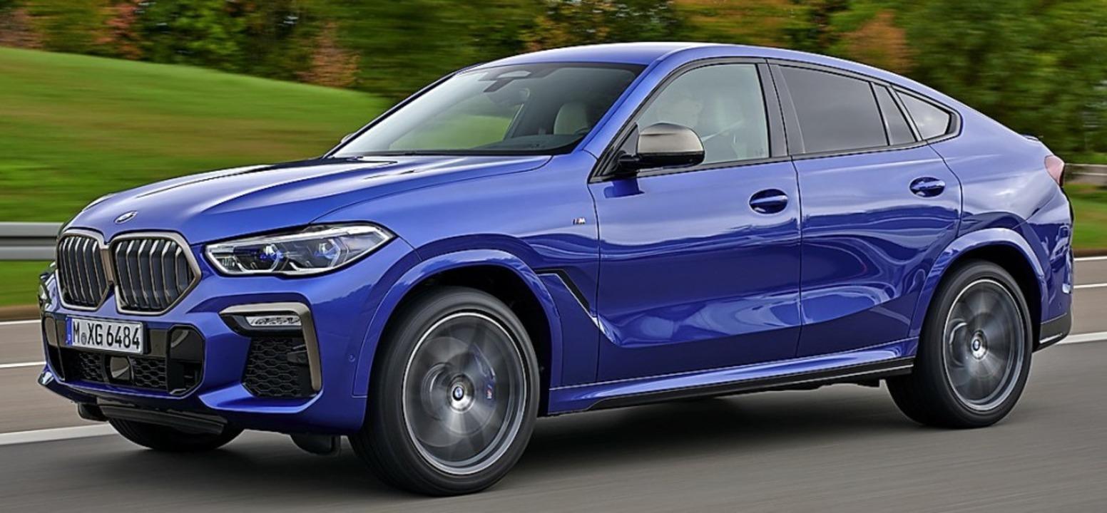 Gewaltig – X6 mit großen  Nüstern  | Foto: BMW