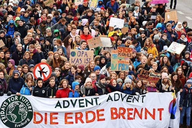 Liveticker zum Nachlesen: Mehr als 10.000 Menschen demonstrieren bei Fridays for Future in Freiburg