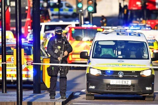 Scotland Yard: Messerangriff in London war Terror – Angreifer erschossen