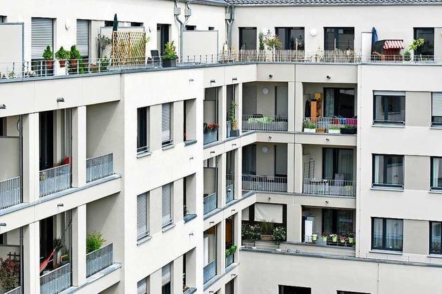 Immer noch ziehen viele Familien aus Freiburg ins Umland